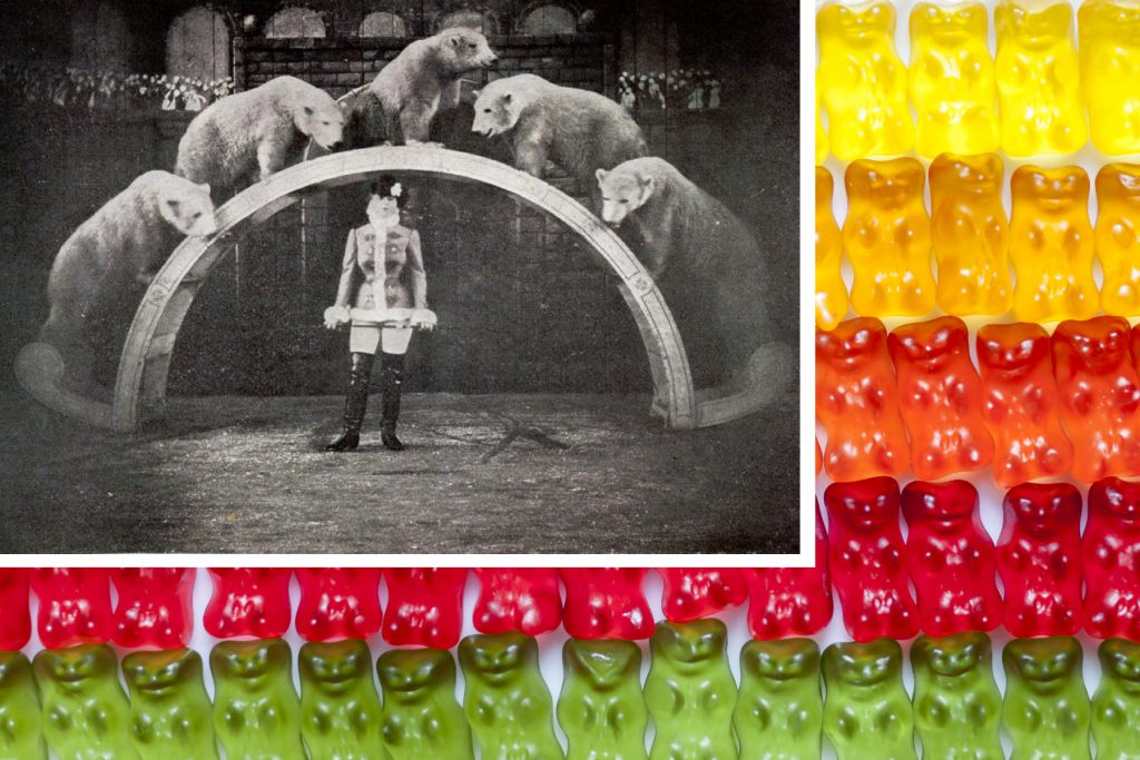 Gummy Bear Collage