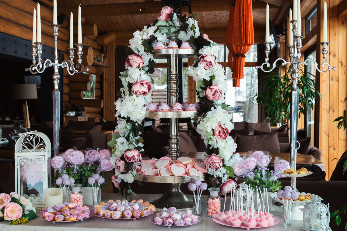 candy wedding ideas
