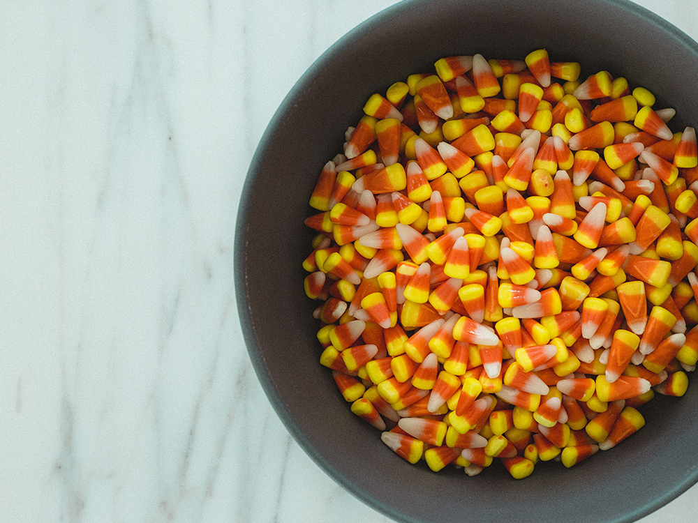 candy corn for candy slime