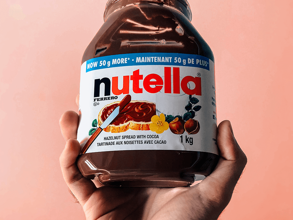 Nutella - Top candy companies