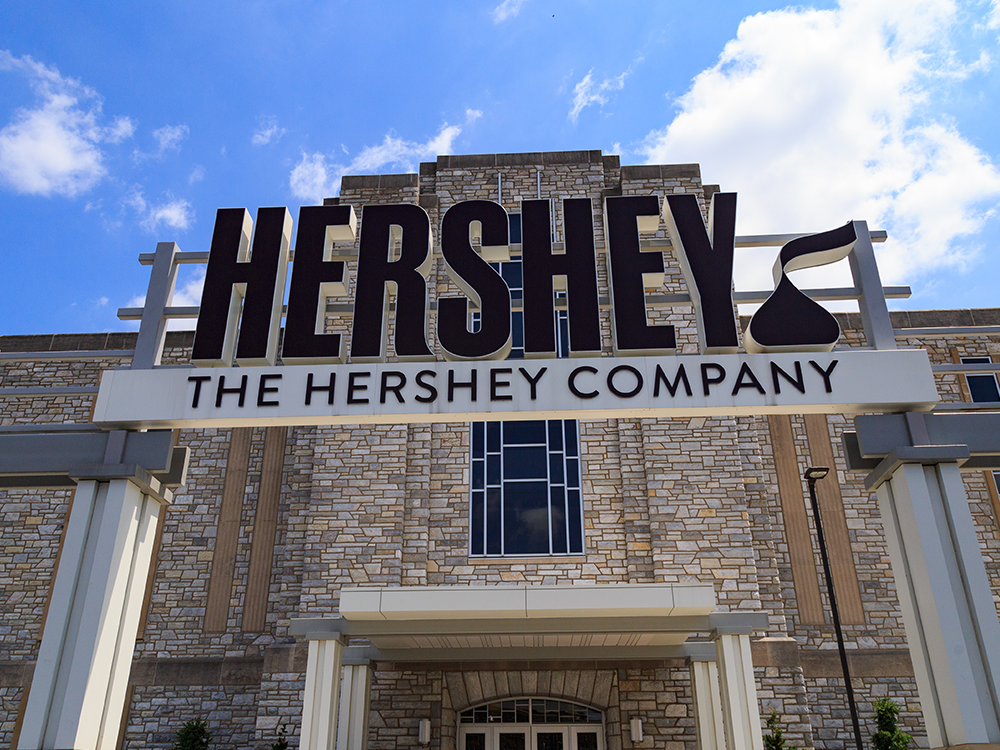 Hershey's company - a top candy company