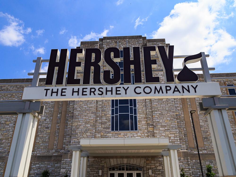 Hershey's company - a top candy company