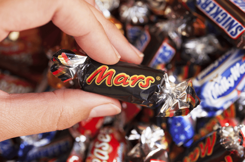 Mars bar - top candy companies