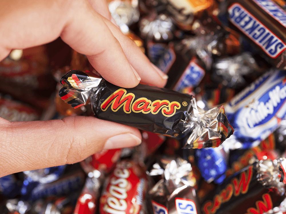 Mars bar - top candy companies