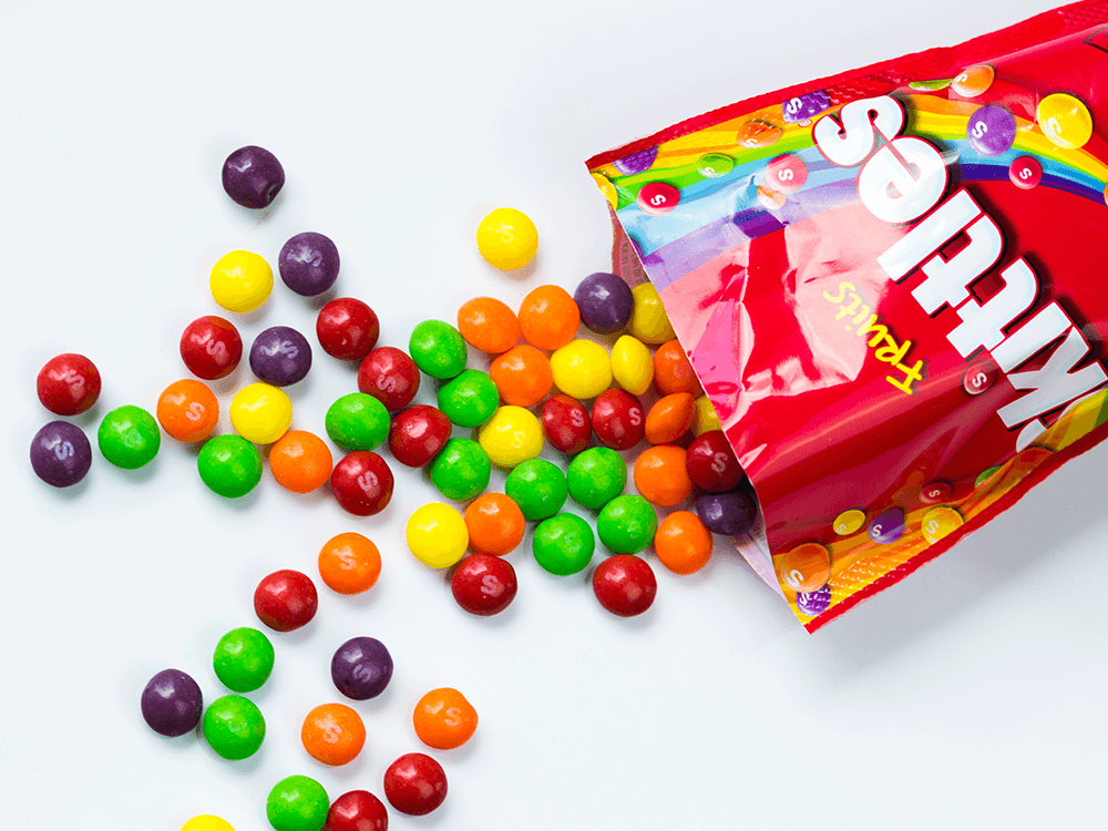 skittles candy - best american candy