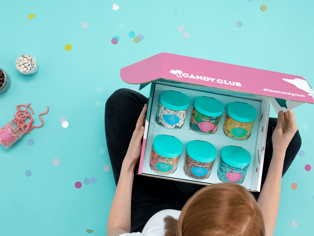 candy club box subscription - for valentine's day gift